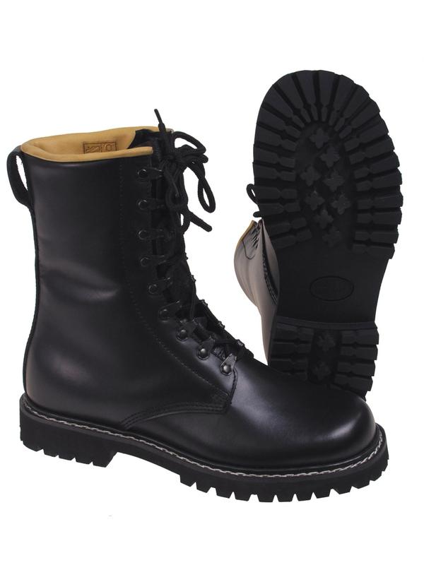 2669c33af2f1 Vysoké vojenské topánky čierne - RVC Klement.sk